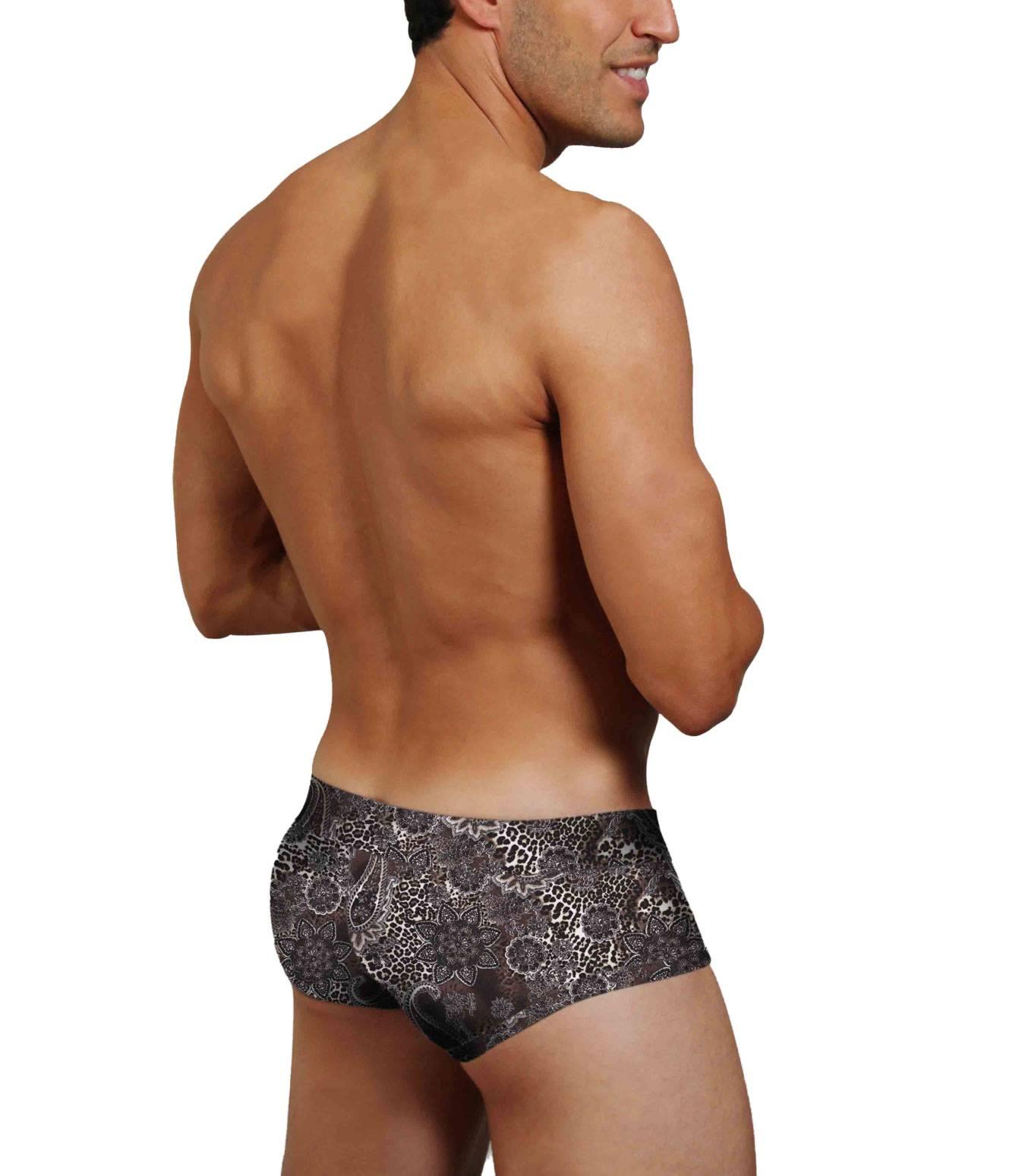 Doreanse Retroshorts Hipster Pants Trunk Shorts Paisley Muster Printed M-XXL