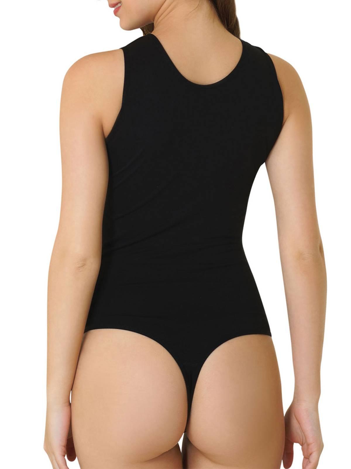 Kefali Stringbody Damenbody Unterwäsche Business Unterhemd Bodysuit KC207S